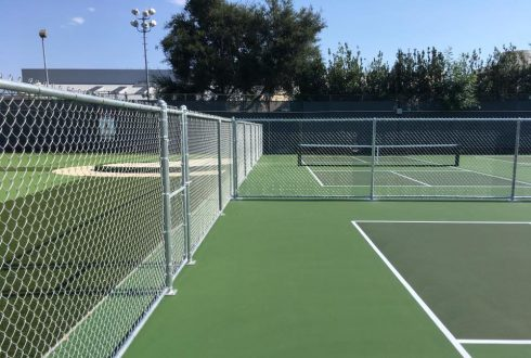 Chainlink Fences at Country Club