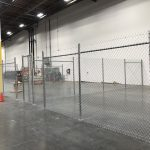 Chain Link Fence Indoor