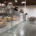 Chain Link Fence Indoor